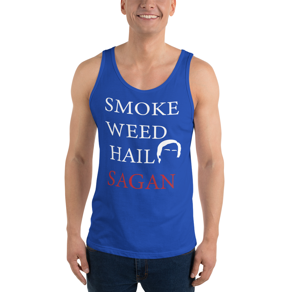 Smoke Weed Hail Sagan - Tank Top - Logikal Threads