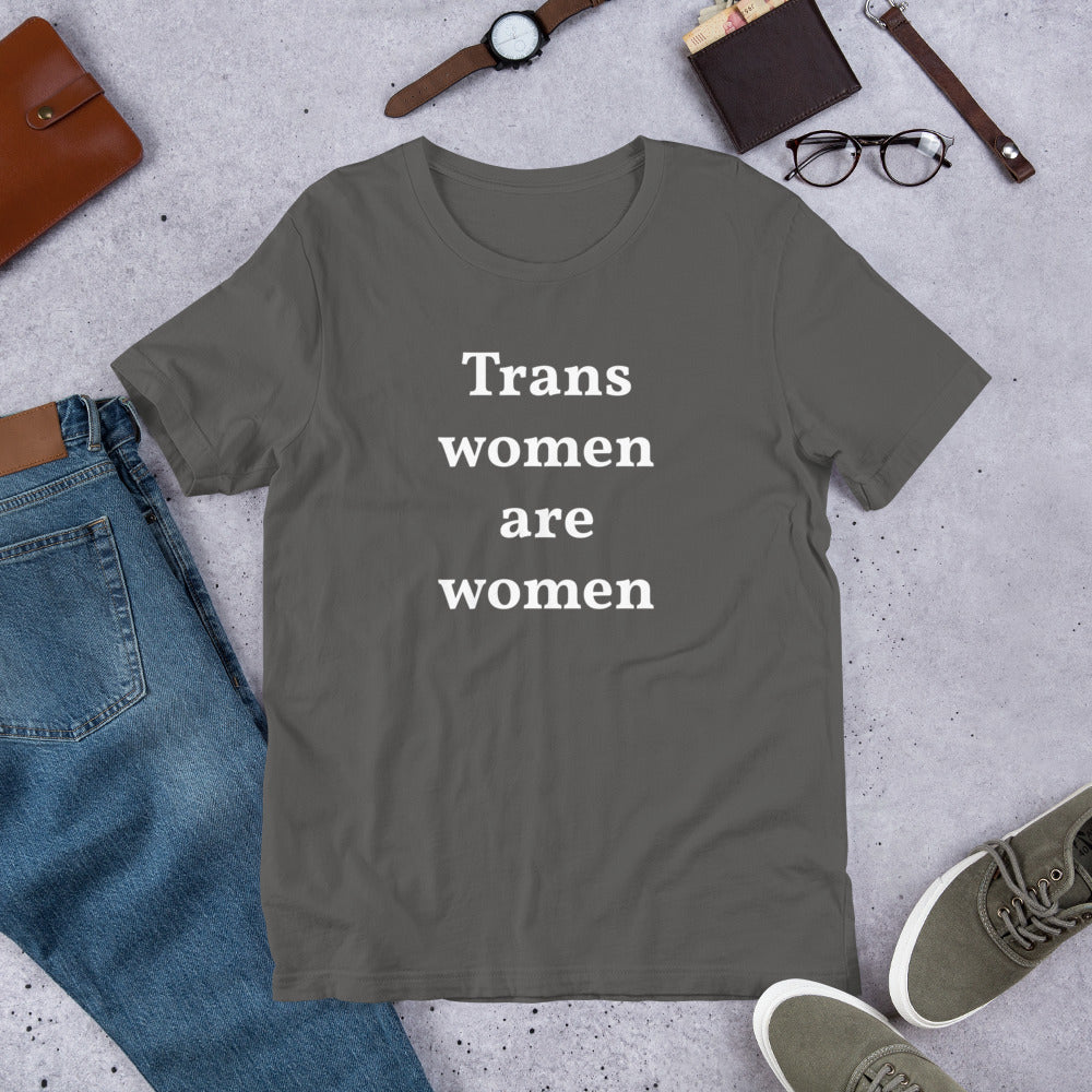 Trans Women Are Women Short-Sleeve Unisex T-Shirt - Logikal Threads