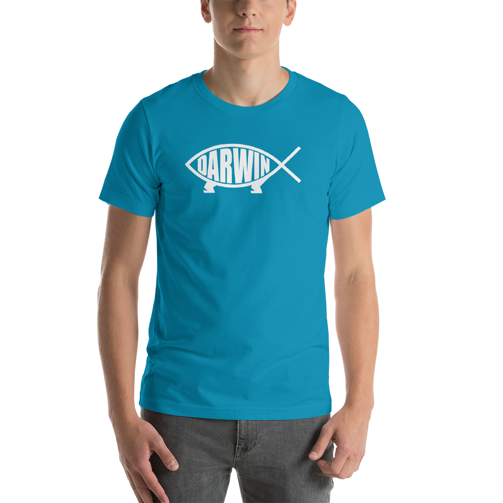 Darwin Fish T-shirt - Logikal Threads