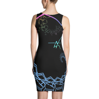 Psilocybin Fractal Dress - Logikal Threads