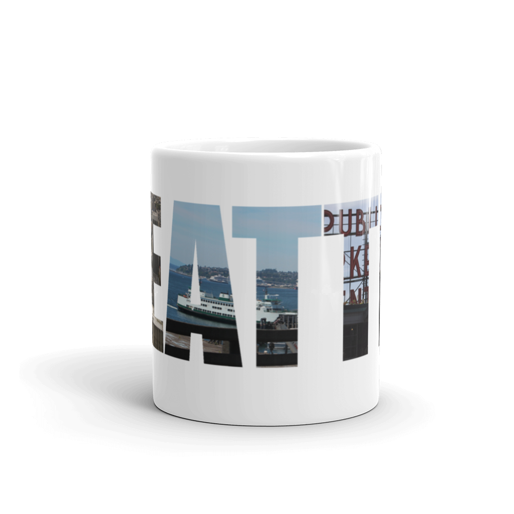 Seattle Mug made in the USA - Logikal Threads
