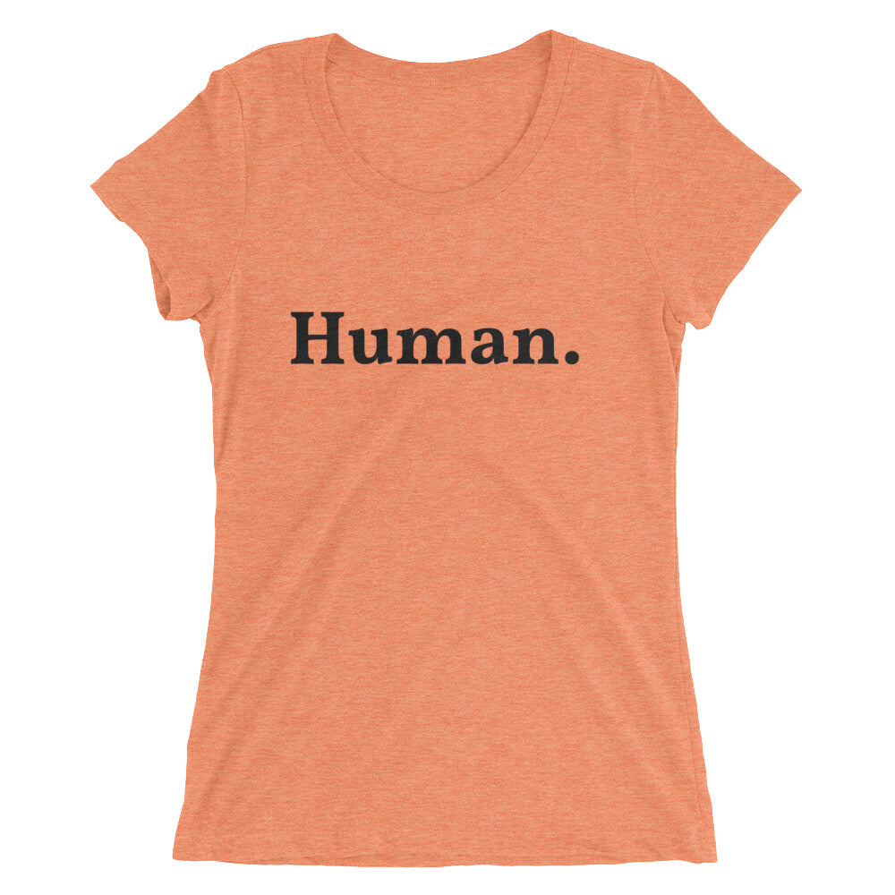 Human Ladies T-shirt - Logikal Threads