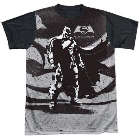 Batman Contrast White Front Black Back