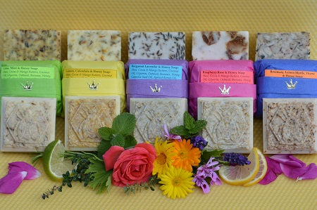 Honey Herbal Soaps