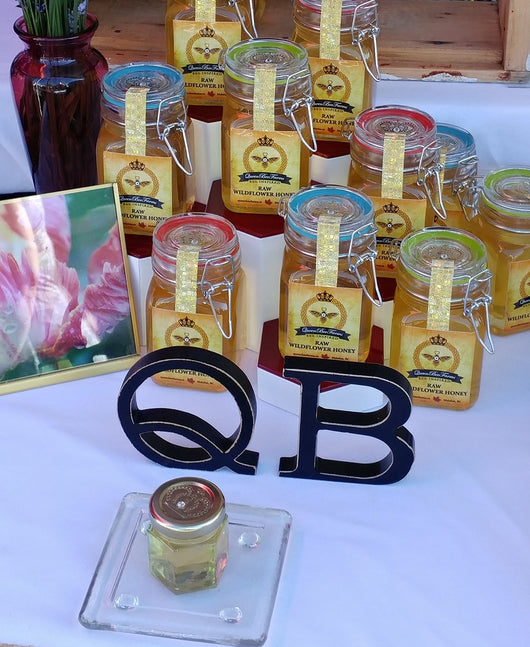 Queen Bee Farms Raw Wildflower Honey