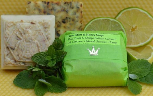 Lime, Mint & Honey Soap