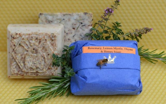 Rosemary, Lemon Myrtle, Thyme & Honey Soap