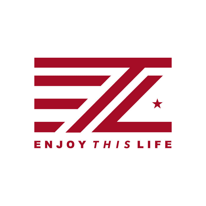 Classic ETL Logo Window Decal - Red