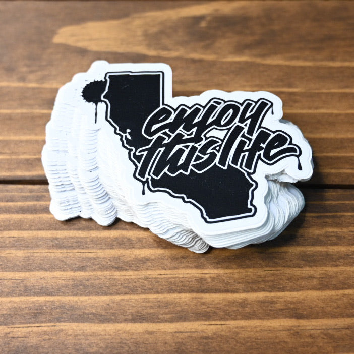 Cali State of Mind - ETL Script Logo Sticker