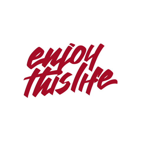 ETL Script Logo Window Decal - Red