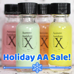 Holiday Sale LE Acetone Antidote - Acetone Additive to Protect Nails & Cuticles