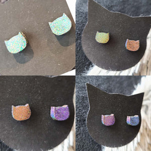 Cats In Space - demiflux Earrings