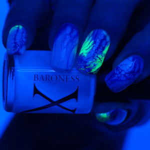 Ghoulish - UV Reactive Pearl Fluid Art Polish