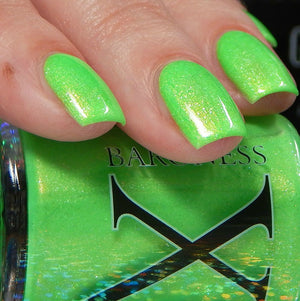 Green River - Neon Green w/ White & Gold Microflake & Gold Shimmer