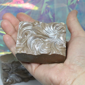 Icy Peppermint Bark Sea Salt Soap