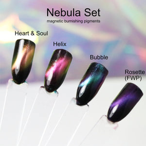 GalaXy Glints - Magnetic Multichrome Nail Burnishing Powders