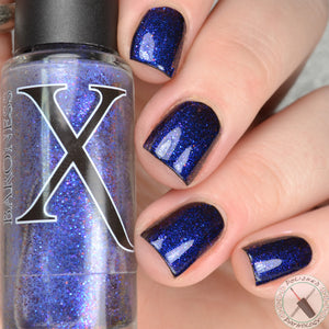Realist - Indigo Pigment with Blue to Red Shifting Chromaflair Microglitter