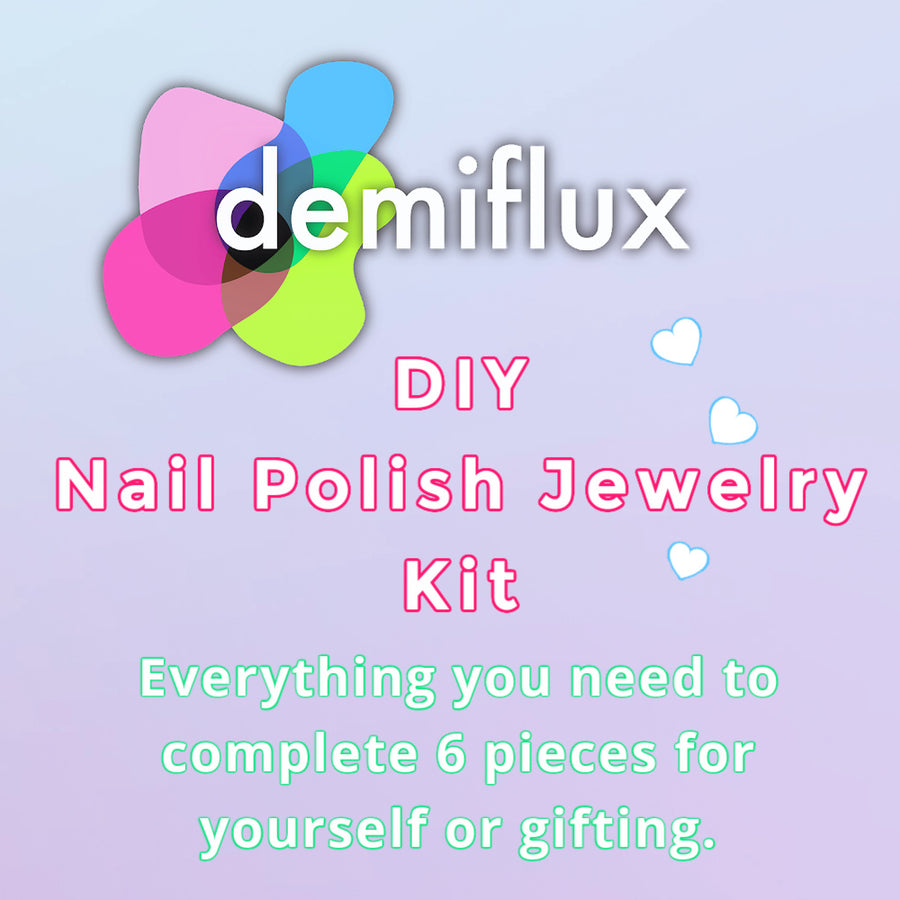 demiflux DIY Nail Polish Jewelry Kit