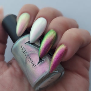 Hex - Violet Pink/Copper/Gold/Green Iridescent Polish