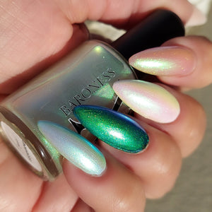 Incantation - Green/Blue/Purple Iridescent Polish