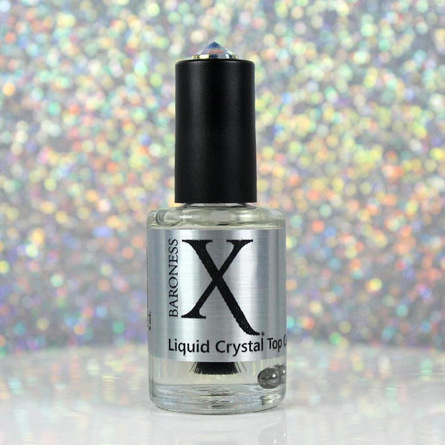 Nail Art - Liquid Crystal Quick Dry Top Coat (4-free)