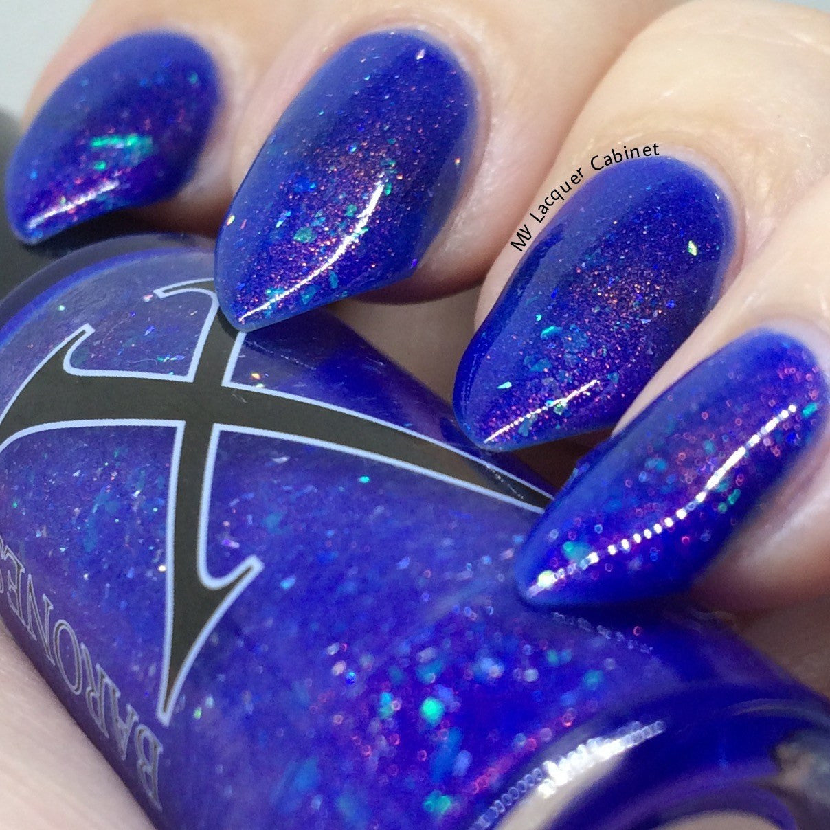 Amatista - Purple Shimmer Topper - Baroness X