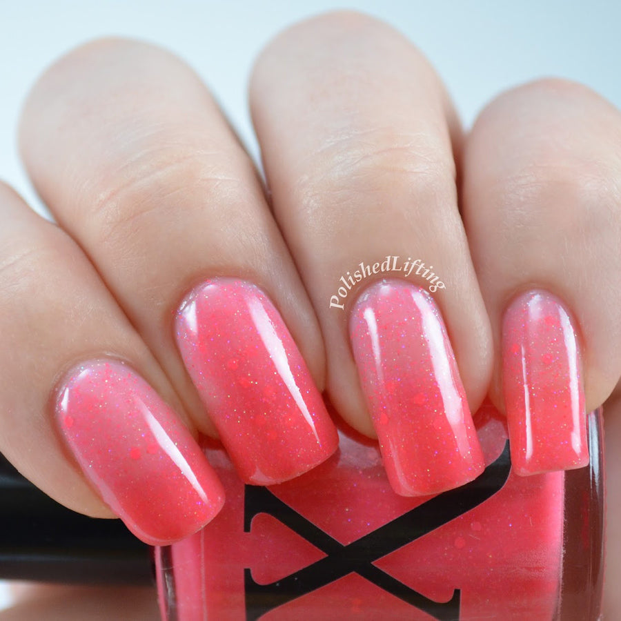Nail Polish - Blushing Bellini - Crelly Thermal Polish