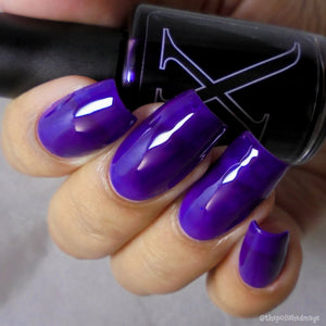 Nail Polish - Doomed - Purple Jelly