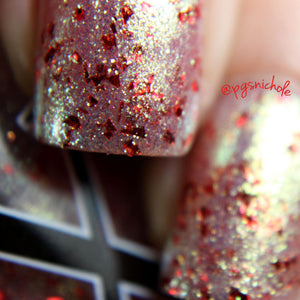 Nail Polish - Dynastic - Shifting Glass Flakie Polish