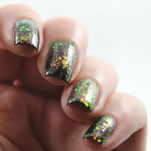 Nail Polish - Eerie-descence - Multichrome Glitter W/ Bright Iridescent Shifting Glitter