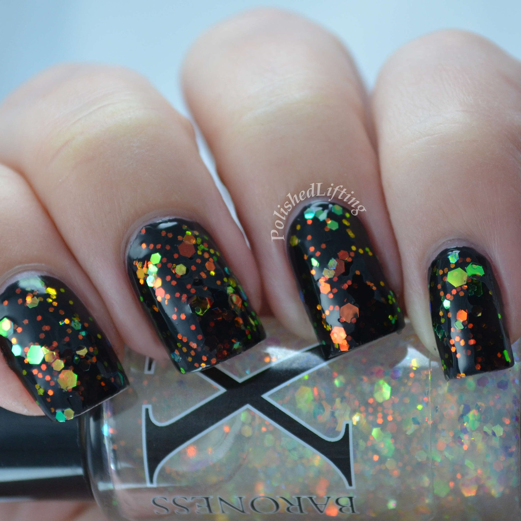 Eerie-descence - Multichrome Glitter w/ Bright Iridescent Shifting ...