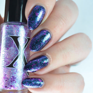 Nail Polish - Etheric - Shifting Glass Flakie Polish