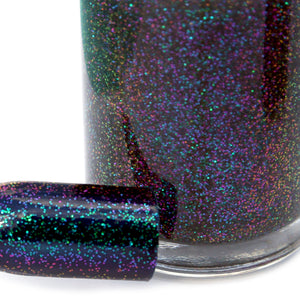 Nail Polish - I Love Hue - Multichrome Glitter Top Coat
