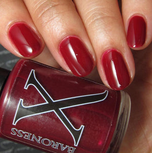 Nail Polish - Lava -  Warm Red Jelly
