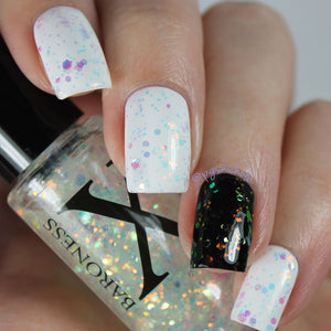 Nail Polish - Opulent Oddity - Bright Iridescent Shifting Multichrome Glitter
