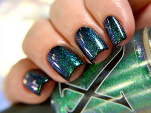 Nail Polish - Oracle - Green To Violet Shifting Topper