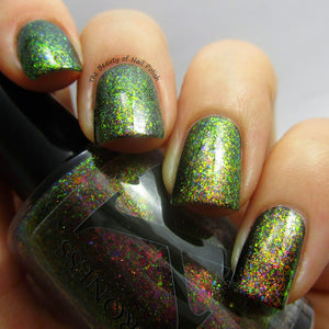 Nail Polish - Peculiar Patina - UltraDENSE Chrome Flakie Polish