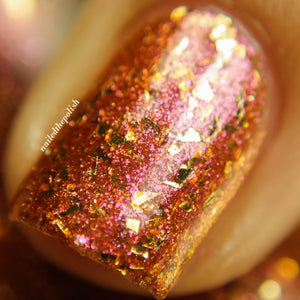 Nail Polish - Utopia - Shifting Glass Flakie Polish