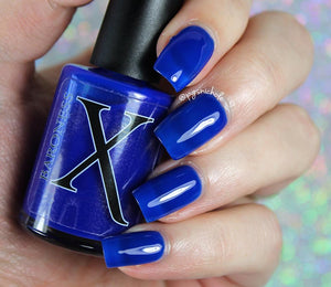 Nail Polish - Vulcan Blood - Blue Jelly Base