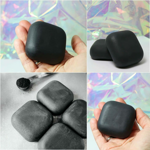 Sumi Spa Soap - Facial Soap w/ Binchotan Charcoal & Fine Black Sea Salt