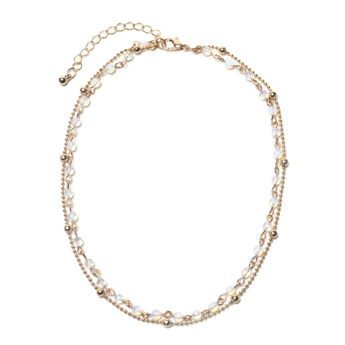 Ellie Opalite Layered Choker