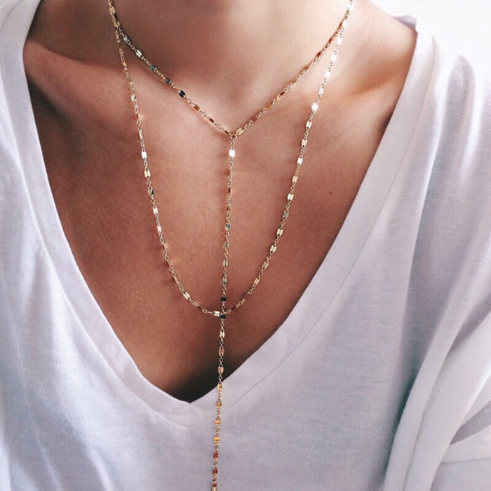 Ayla Lariat Necklace