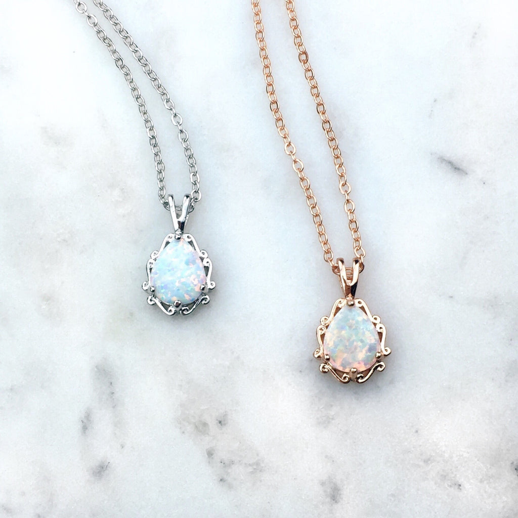 Enchanted Opal Necklace