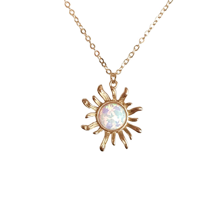 Solana Opal Necklace