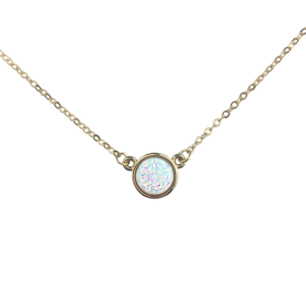 Sydney Opal Necklace - Gold