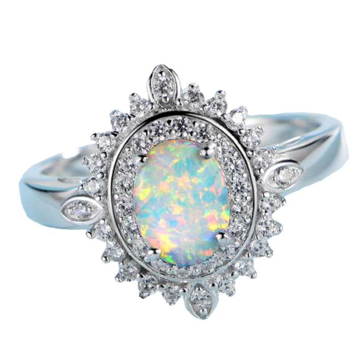 Trouvaille Opal Ring