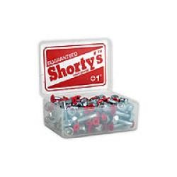 "Shortys Single Hardware Bolt and Nut (1""/Phillips/Red Tip)"