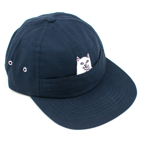 Rip N Dip Nermal 6 Panel Strapback Hat (Navy)