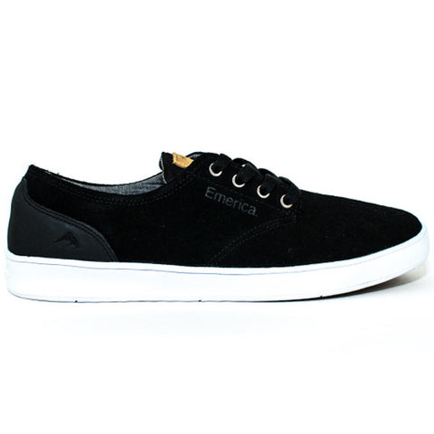 Emerica The Romero Laced Shoes (Black/Black/White)