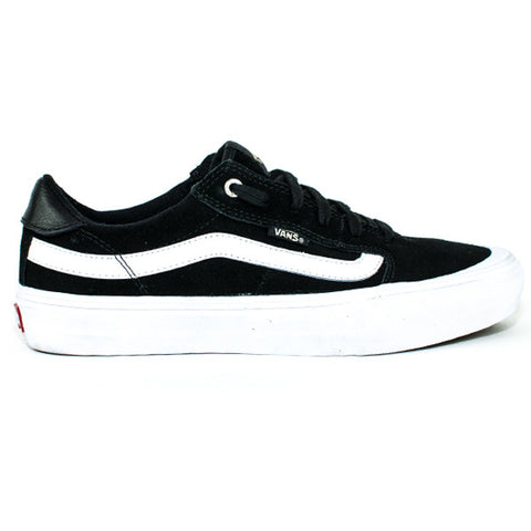 Vans Mens Style 112 Pro Shoes (Black/Black/White)